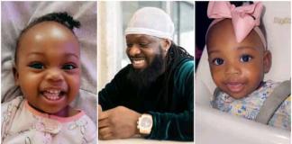 Singer Timaya Celebrates Daughter As She Clocks One