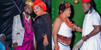 Regina Daniel's Mother, Rita Reportedly Ties The Knot With Younger Lover