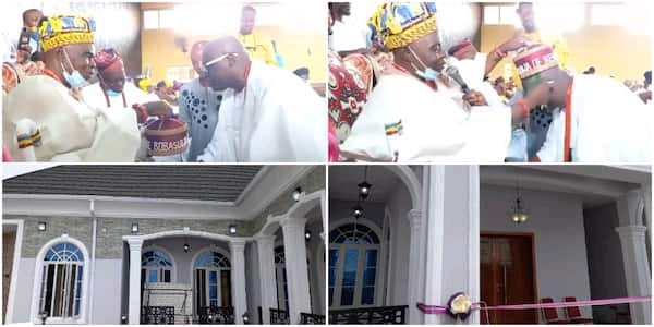 Adewale Ayuba Completes Mansion, Bags Chieftaincy Title