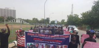 Parents Of Abducted Kaduna Students Protest At National Assembly