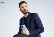 TECNO Brand Ambassador Chris Evans