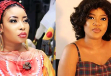 """She Called My Child An Imbecile"" - Lizzy Anjorin Reignites Feud With Toyin Abraham"