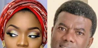 Bisola Aiyeola Reacts As Reno Omokri Says He Has No Respect For Single Mothers