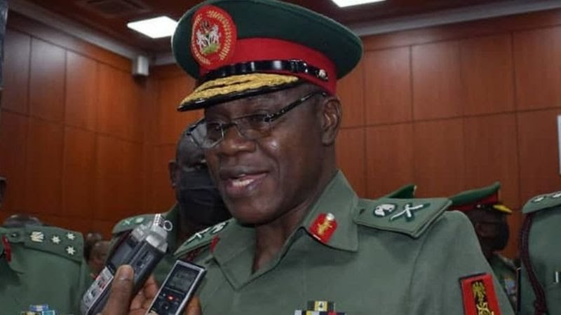 COAS Decries Rising Cases Of Sexual Abuse In Military Barracks