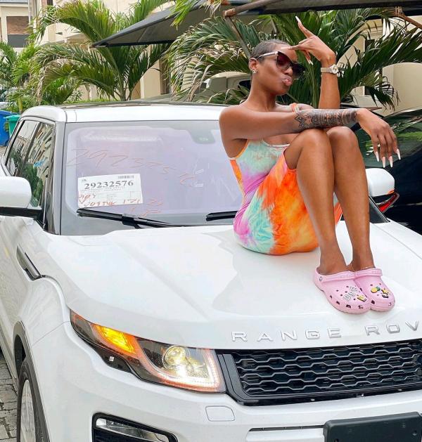 Actress Dorcas Shola Fapson Acquires Brand New Range Rover