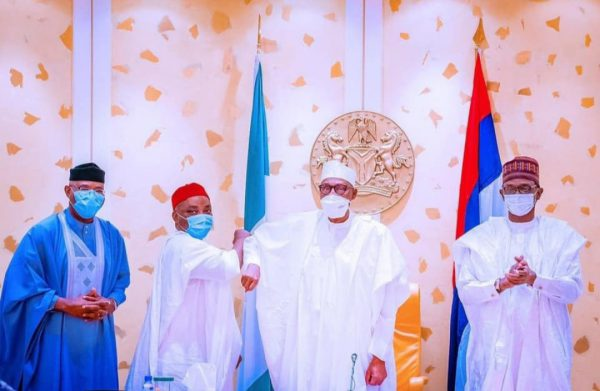 Delta Senator, Nwaoboshi, Defects To APC, Meets Buhari