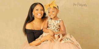 Actress Osas Ighodaro Celebrates Her Daughter As She Clocks 5