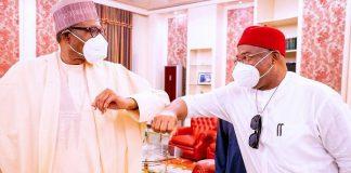 Buhari: Uzodimma And I Share Similar Vision On Infrastructure Development