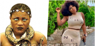 I Almost Peed When Pythons Were Placed On My Neck While Acting – Destiny Etiko