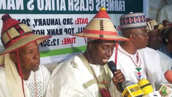 Miyetti Allah Asks FG To 'Stop Governors From Enacting Anti-Open Grazing Laws'