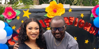 'You Changed The Narrative That Was Becoming My Norm,' Tonto Dikeh Tells Her Husband, Prince Kpokpogri