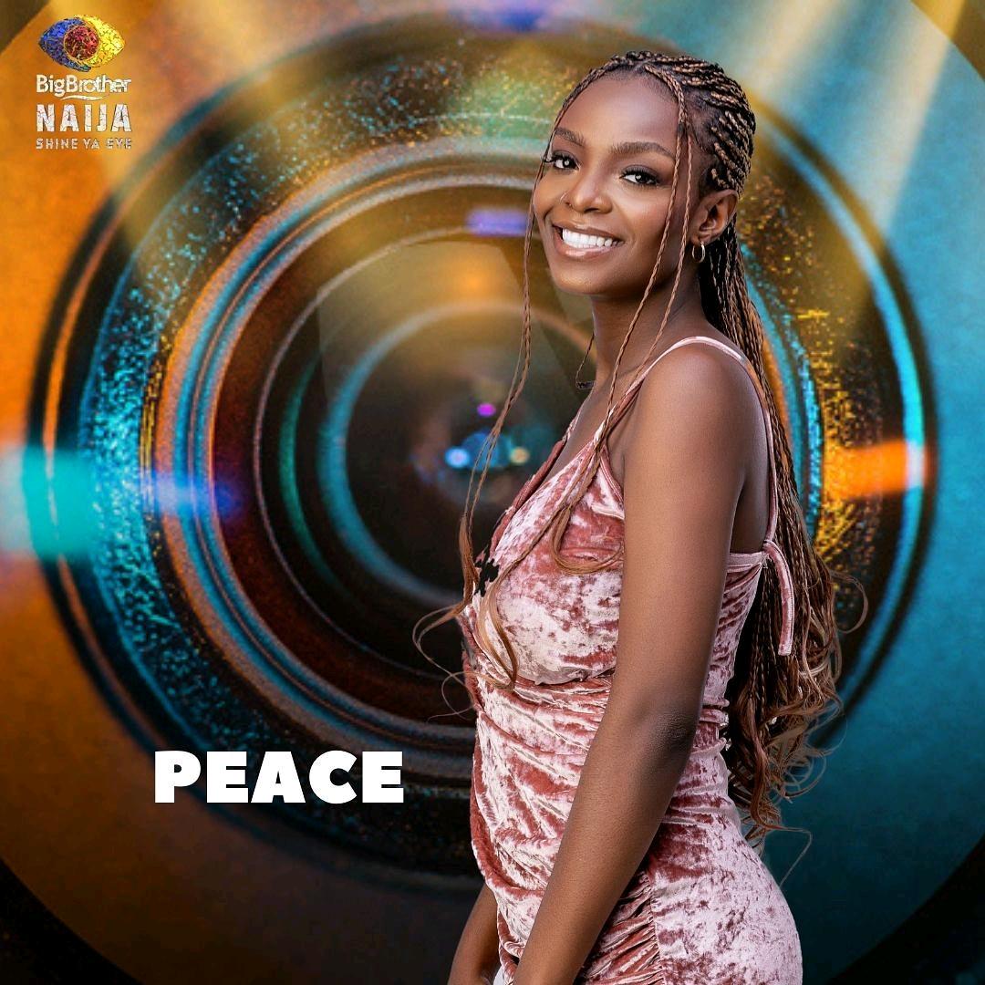 BBNaija Shine Ya Eye: Peace Becomes First Head Of House