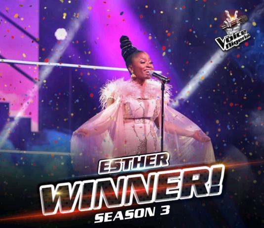 Esther Wins The Voice Nigeria Season 3