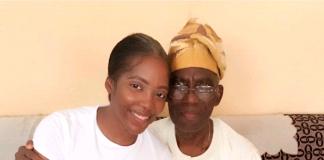 Singer Tiwa Savage Loses Her Father