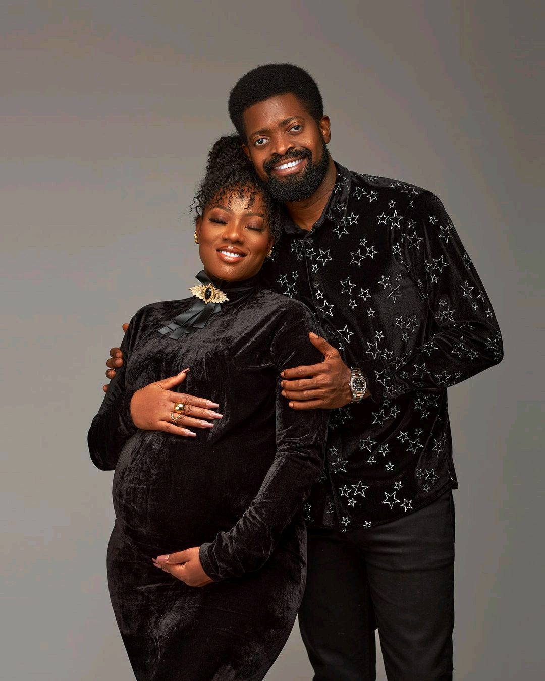 Basketmouth's Wife Celebrates Pregnancy On Her Birthday After Three Miscarriages
