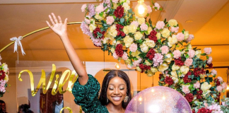 Actress Inidima Okojie Announces Her Engagement