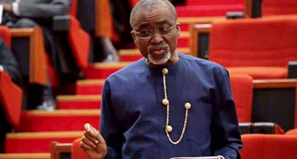 Abaribe Challenges Senate President Over Electronic Transmission Of Results