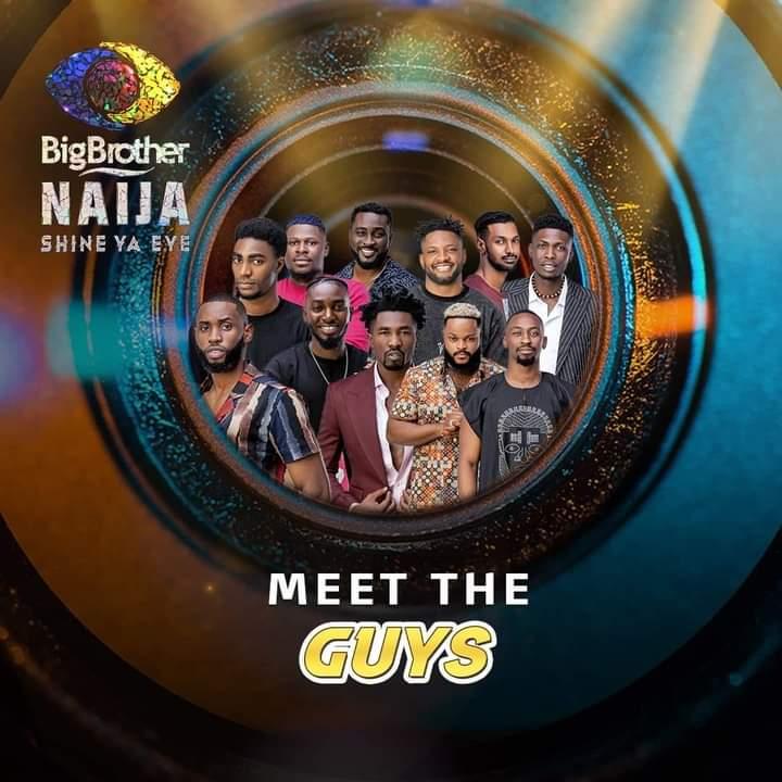 BBNaija 'Shine Ya Eye' Premieres, Male Housemates Unveiled