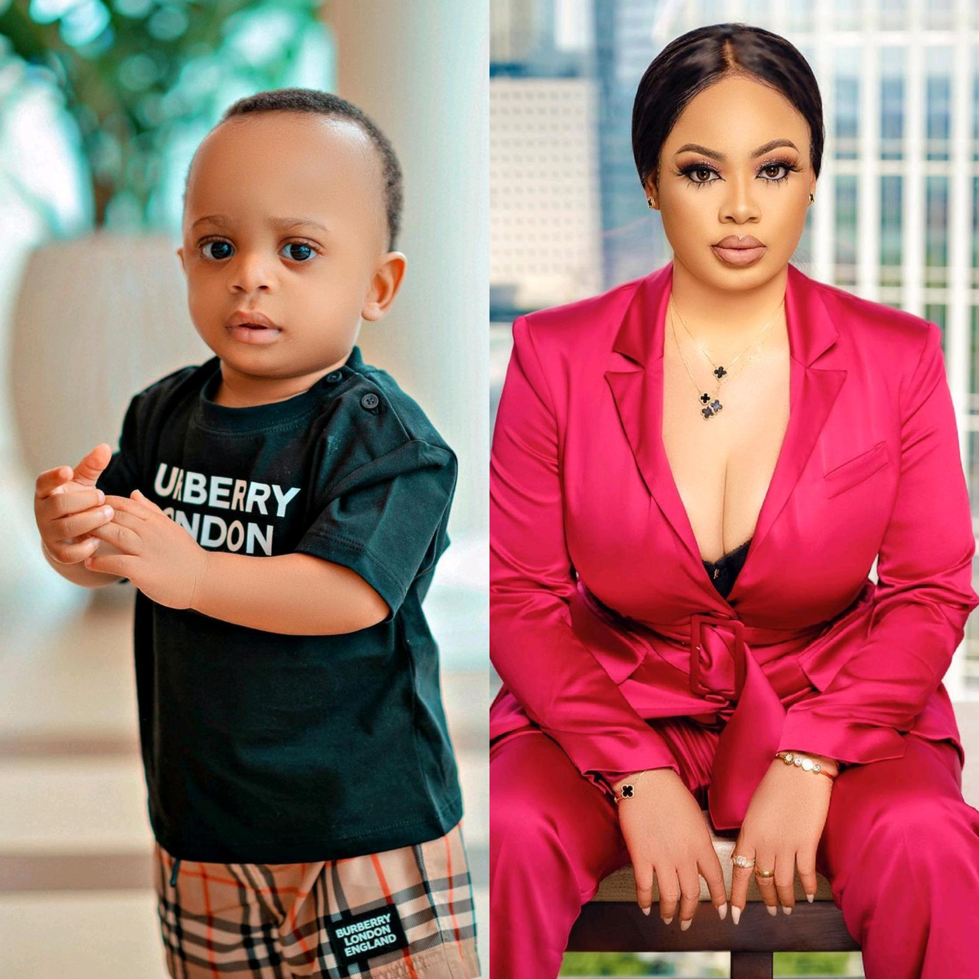 BBNaija's Nina Celebrates Her Son As He Clocks One