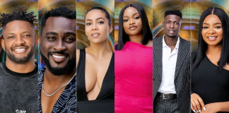 BBNaija Shine Ya Eye: Maria, Pere, JMK, Queen, Cross, Sammie Up For Eviction