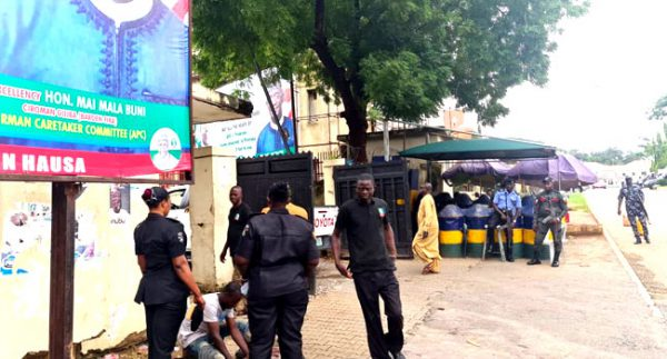 Why Security Operatives Are At Our National Secretariat – APC