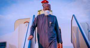 JUST IN: Buhari Returns To Abuja After UNGA