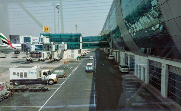Dubai International Airport in the United Arab Emirates in July 2018.