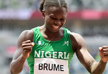 Tokyo Olympics: Ese Brume Wins Nigeria's First Medal