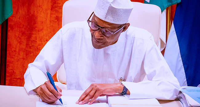 Buhari Signs Petroleum Industry Bill Into Law