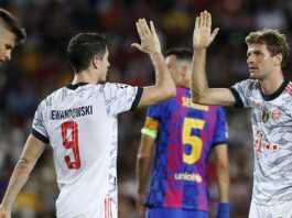 Bayern Hammer Barcelona At Camp Nou