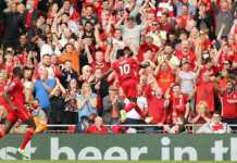 Mane, Salah Score To Lift Liverpool Over C'Palace