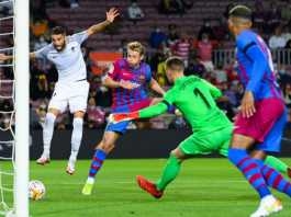 Late Eqauliser Rescue Point For Barcelona