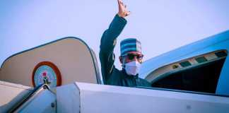 Buhari Departs Abuja To Attend 76th UN General Assembly