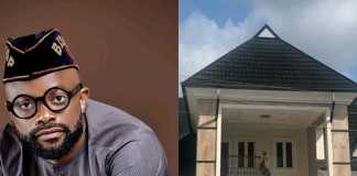 Actor Ime Bishop Umoh Unveils His Completed Mansion In Uyo