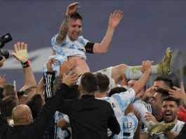 Messi Scores Hat-Trick, Breaks Pele Record