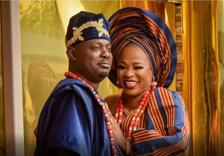 I Won't Leave Him Even If He Gets Every Woman Pregnant - Actor Kunle Afod's Wife, Desola