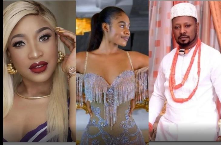 Tonto Dikeh's Ex-boyfriend, Prince Kpokpogri Apologizes To Dancer Jane Mena's Husband