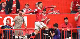 Ronaldo Scores On Second Debut For Many United