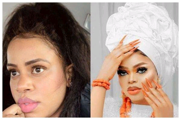 """""""Everyone Knows You're Bisexual,"""" Singer Daffy Blanco Blasts Bobrisky"""