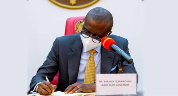 Sanwo-Olu Signs Administration Of Criminal Justice Amendment Law 2021
