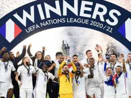 France Beat Spain To Win Nations League
