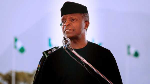 Osinbajo: Defunding Gas Projects Will Hurt Developing Countries